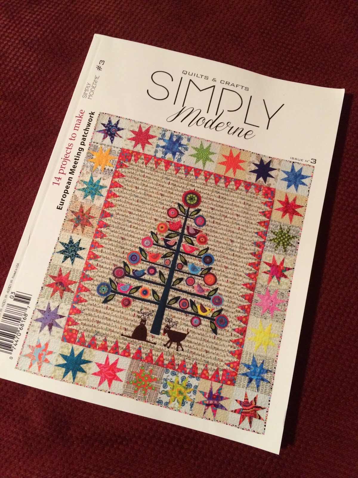 Moderne Quilts Butterfly Threads Quiltmania Simply Moderne Issue 3
