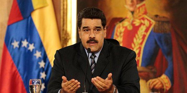 Maduro responde a las sanciones de EE.UU. contra Venezuela