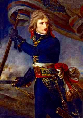 Bonaparte en el puente de Arcole, 17 de noviembre de 1796,