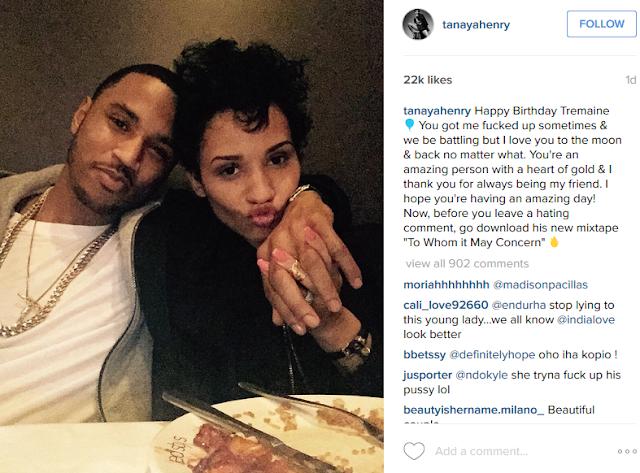 Trey songz dating ethiopian girl