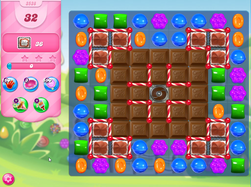Candy Crush Saga level 3538