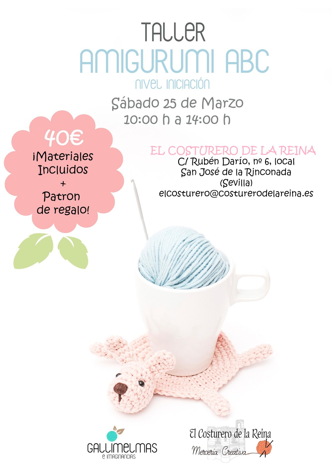 Si quieres aprender a tejer amigurumis ¡Vente para Sevilla ...
