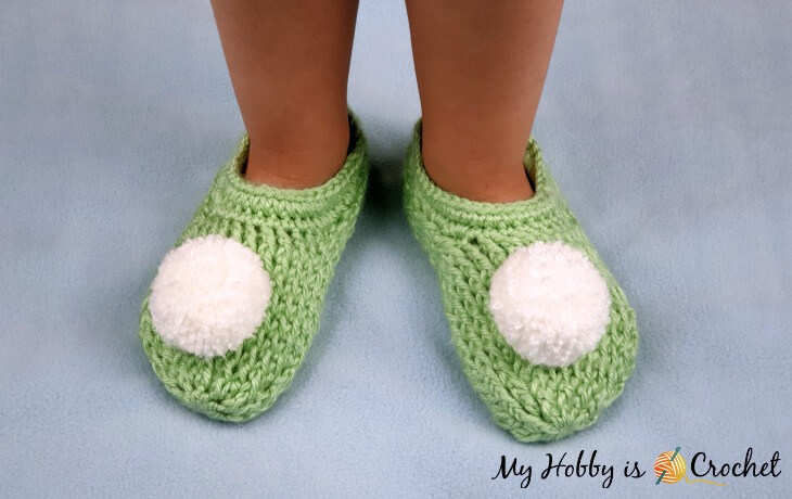 Wood Fairy Slippers - Free Crochet Pattern and Tutorial