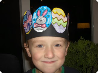 Early play templates more easter hat ideas for boys or girls for Easter bonnets templates