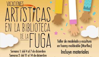 POS 1 | Vacaciones Artísticas 2018 en FUGA