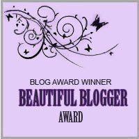 Recipient - Beautiful Blogger Award