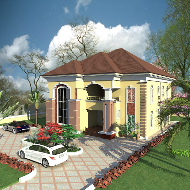 5bedroom duplex with nice landscape