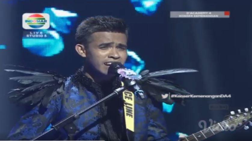 Fildan Juara 1 D'Academy 4 Indosiar