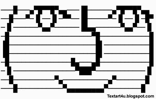 Le Lenny Face Ascii Text Art And Unicode Symbols Cool Ascii Text