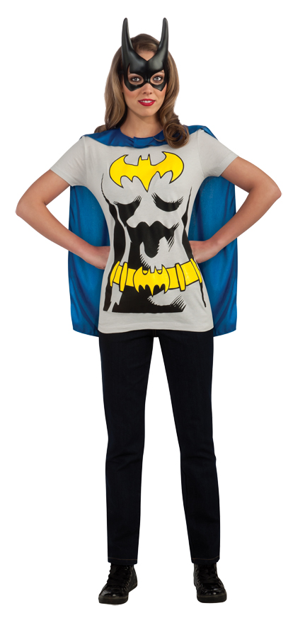 Bat Girl Sexy Adult Shirt Costume