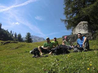 Col de Forclaz Tour del Mont Blanc