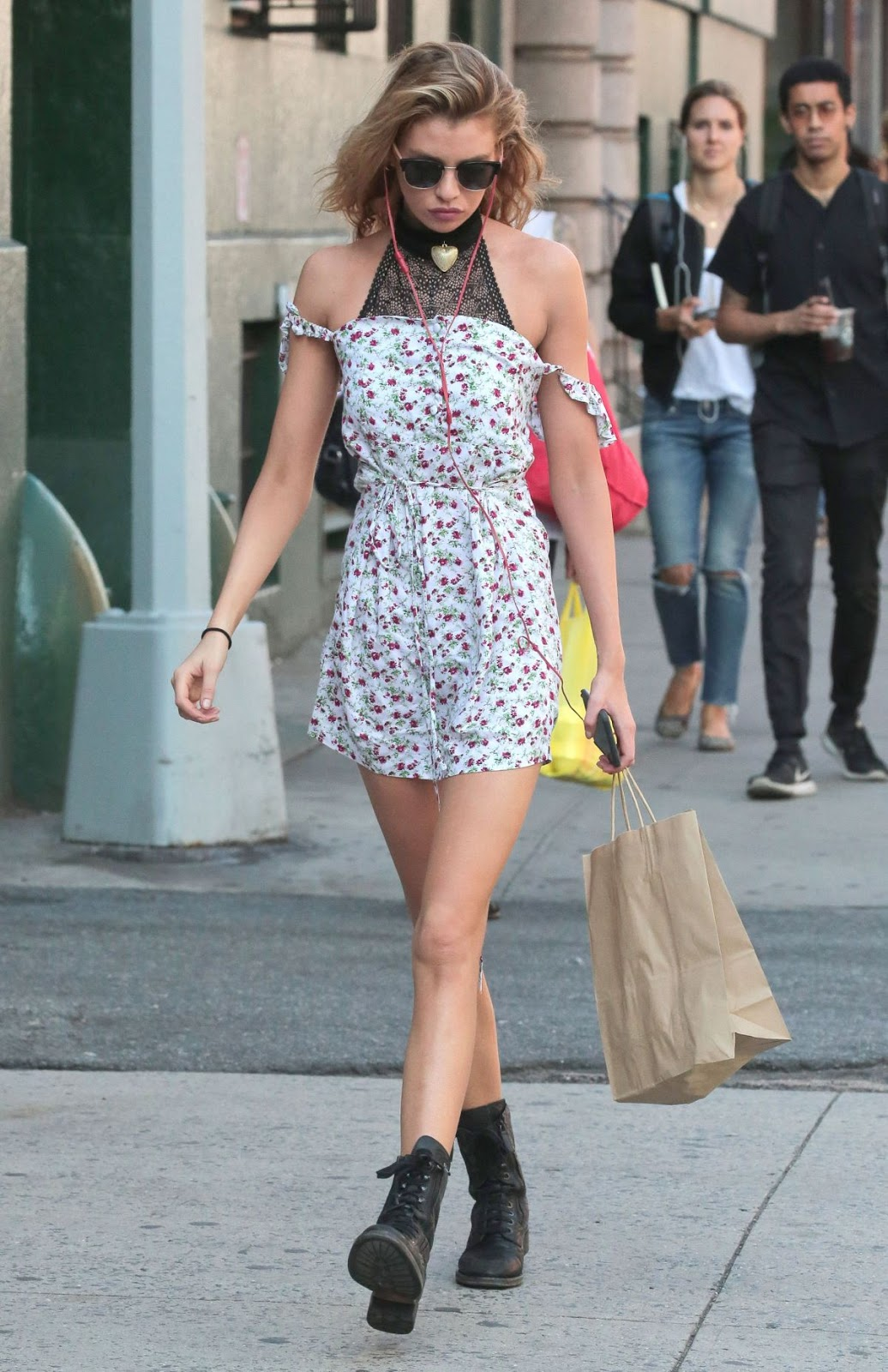 HQ Photos of Stella Maxwell Out And About In New York