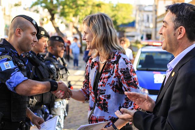 Prefeitura lança Grupo de Ação Rápida (GAR) da Guarda Municipal de Pelotas (RS)