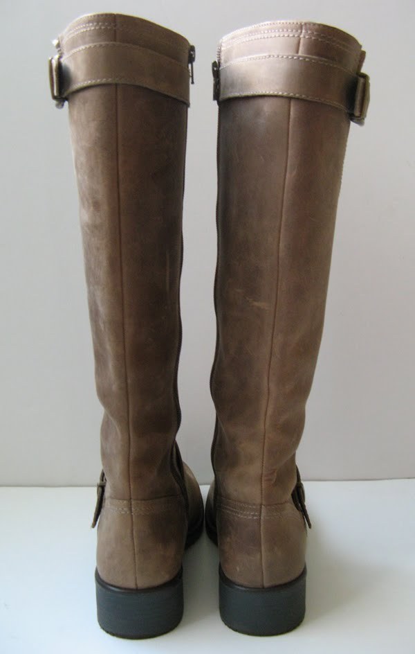 Vintage Frye Tall Riding Boots Clarks Boots Oiled Leather