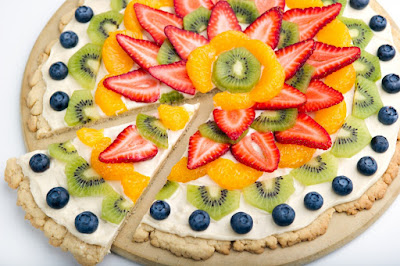 How to Make Easy and Tasty Homemade Fruit Pizza Recipe ~ Homemade Pizza Recipe
