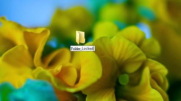 Cách khóa Folder trong Windows XP, 7, 8 không cần phần mềm