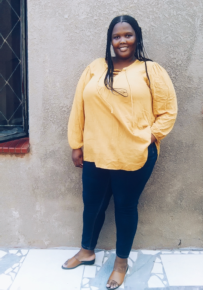 south african plus size blogger, plus size skinny jeans south africa