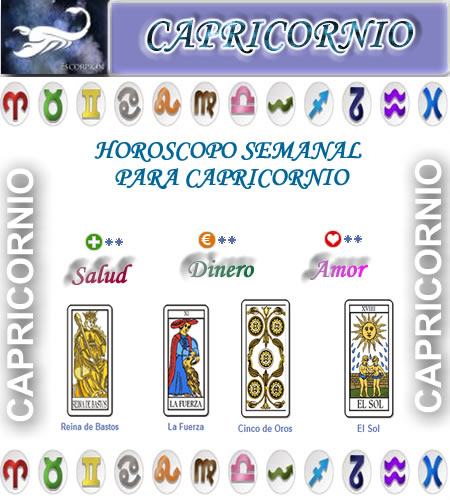 horoscopo semanal