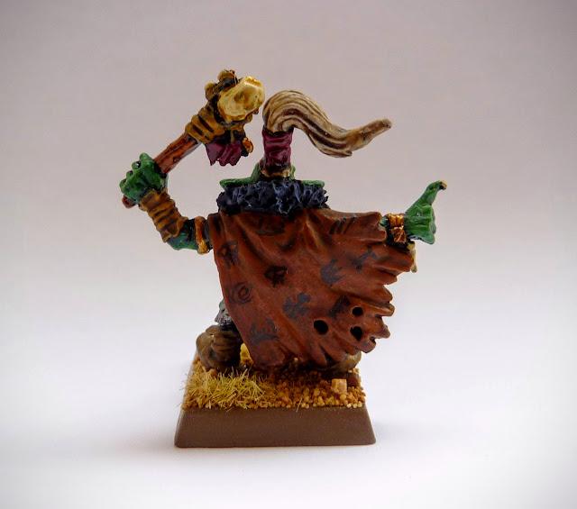 Goblin Great Shaman for Orcs & Goblins, Warhammer Fantasy Battle.