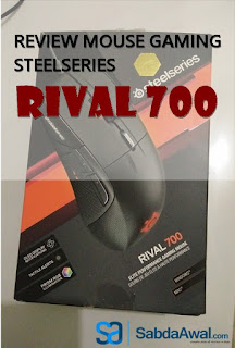 Review Mouse Gaming SteelSeries Rival 700