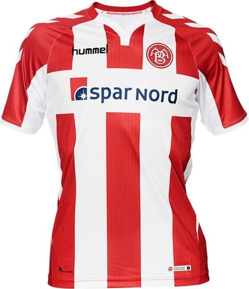 Hummel lança a nova camisa titular do Aalborg - Show de Camisas 21f052798a8fa