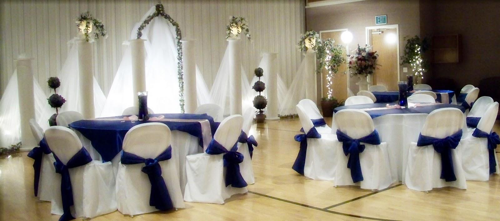 Royal+Blue+Backdrop - Royal Wedding Backdrop