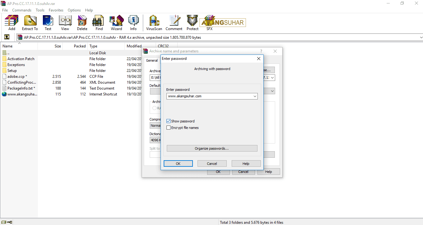 Download WinRAR 5.50 Beta 4 (x86/x64) Full Activation Terbaru