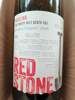 Redstone Limestone Vineyard South Riesling 2013 (90 pts)