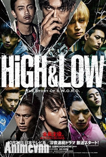 High & Low Season 2 - The Story Of Sword 2016 Poster