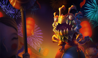 Chinese Lion Dance Kog'maw Skin