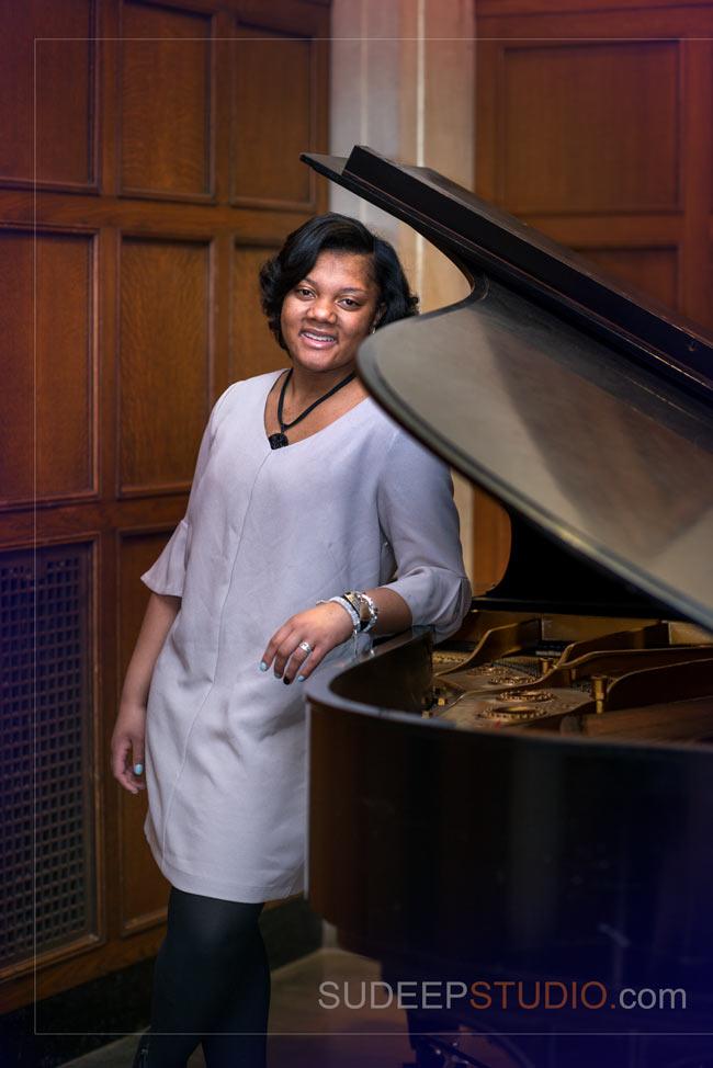 Girls Senior Portrait Ideas with Piano Music - SudeepStudio.com Ann Arbor Senior Pictures Photographer