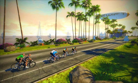 Tales from the llama   : Zwift - Next Level Awesome