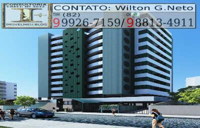 fachada-Residencial-green-tower-maceio-al-Jatiúca-