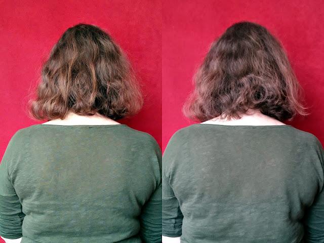 Czyste Piękno - Maska do włosów - Nawilżenie i wygładzenie, efekty stosowania