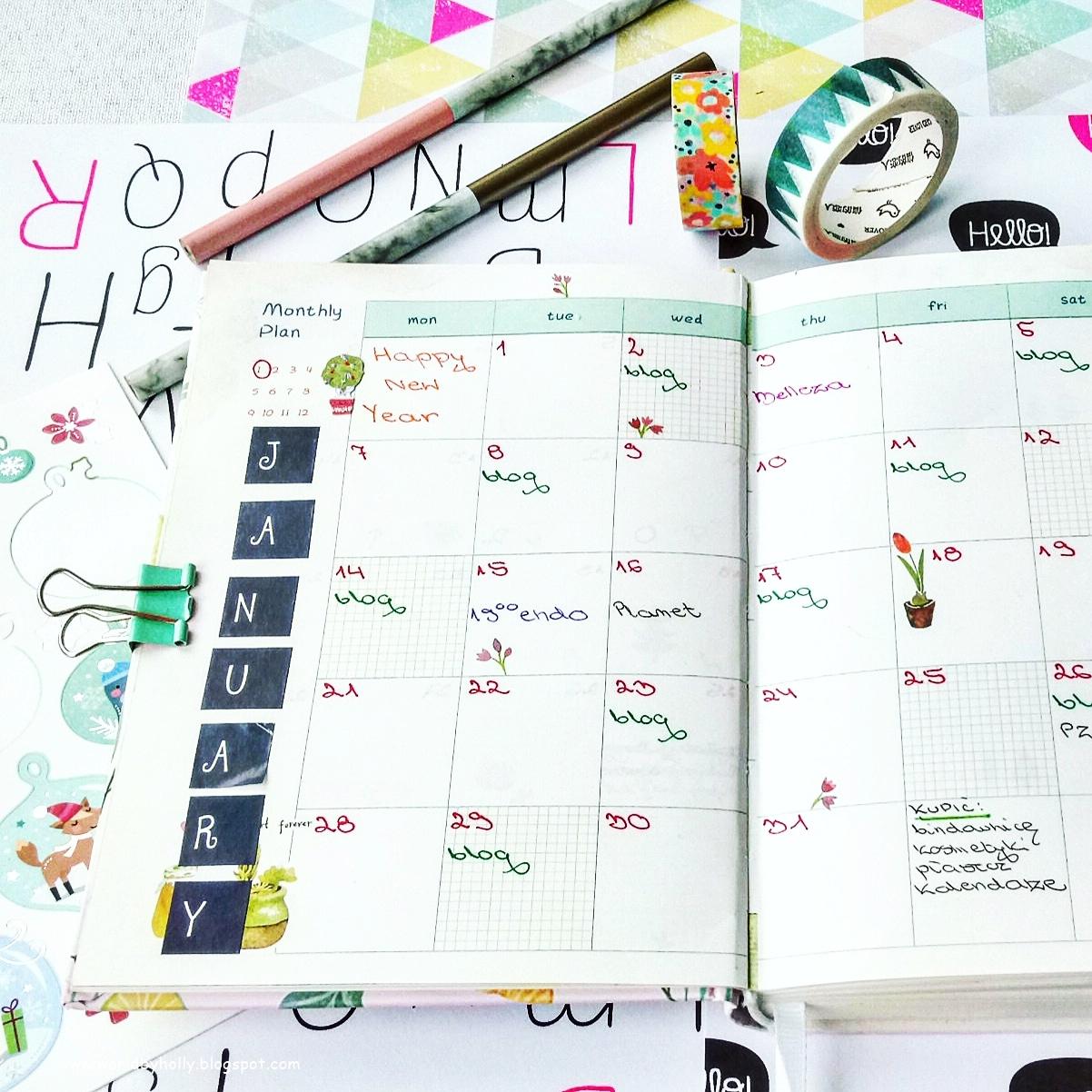 jak prowadzić planner, powody dla których warto prowadzić planner, jak dekorować planner, jakie dodatki do plannera używać, planner, bujo