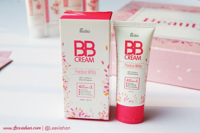 Fanbo, Fanbo Cosmetics, Fanbo Indonesia, Fanbo Precious White, Makeup, skincare, Fanbo BB Cream
