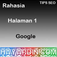 Rahasia Halaman Pertama Google