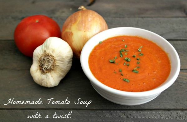 Homemade Tomato Soup from Teaspoon of Goodness
