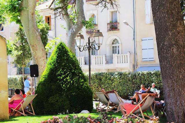 narbonne jardins public sieste musicale midinettes