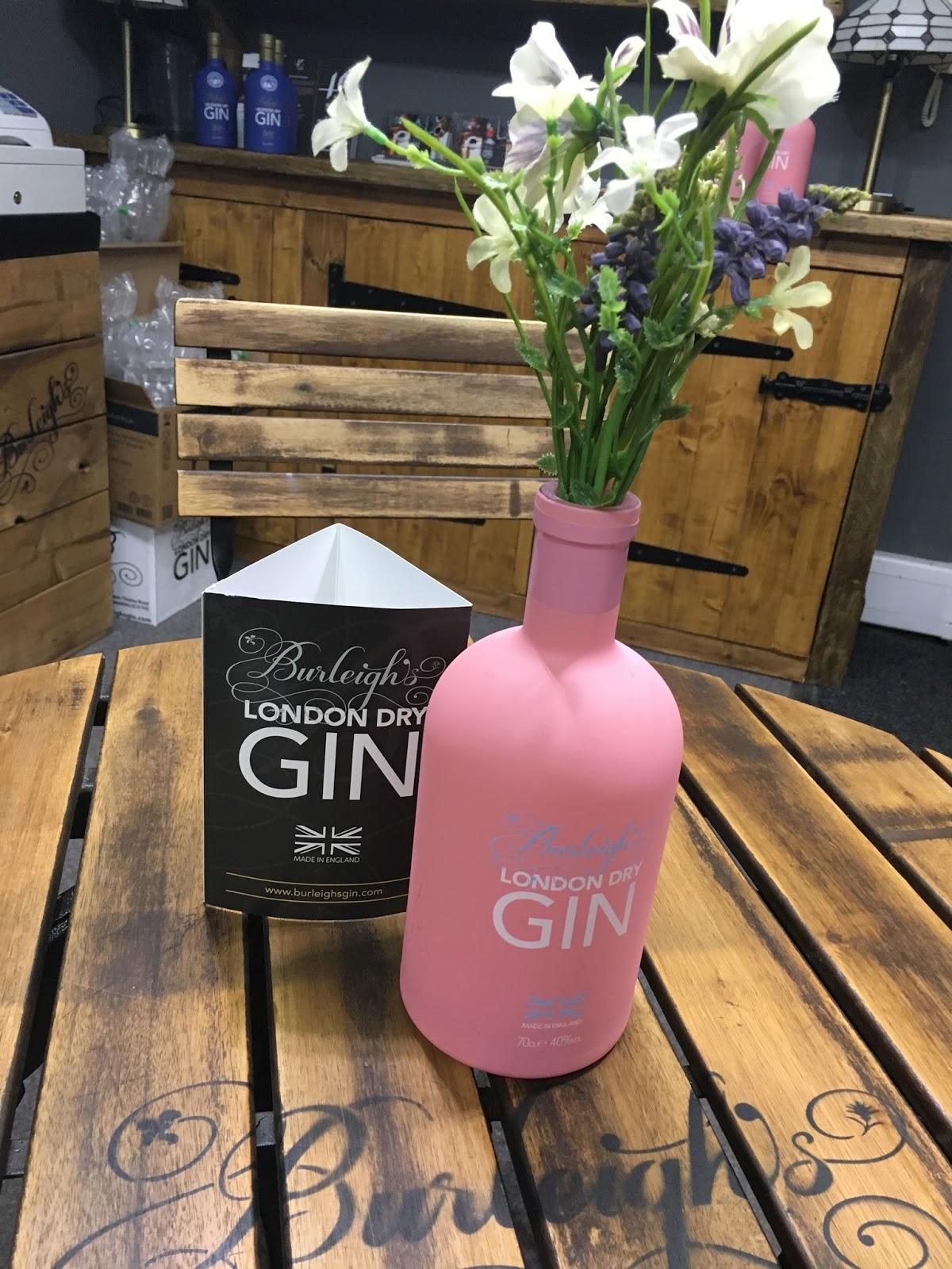 Burleighs pink gin distillery tour