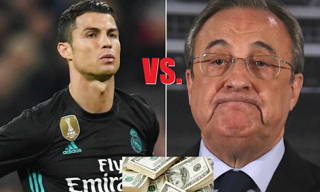 Florentino da el OK a la venta de Cristiano Ronaldo