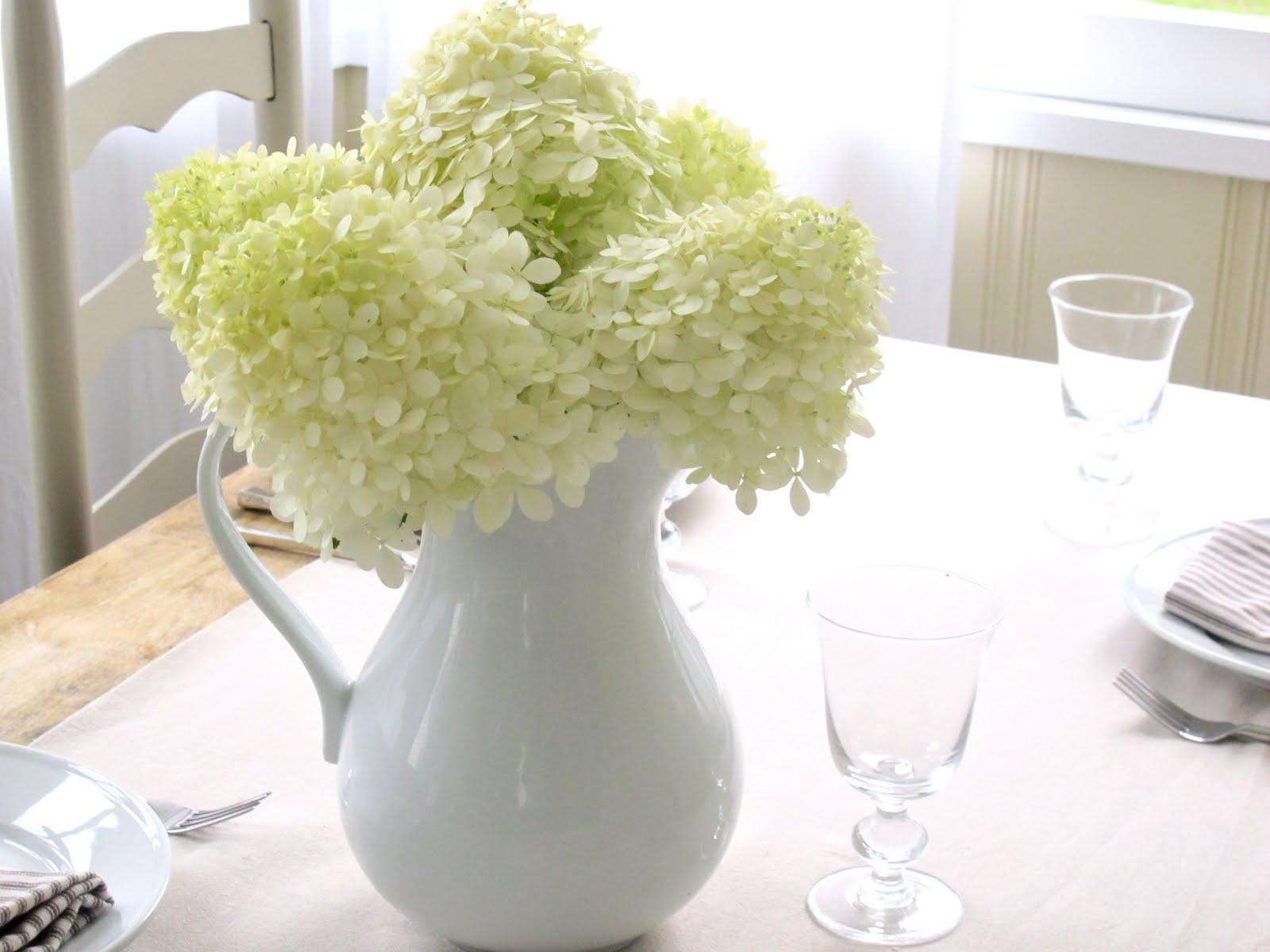 Kitchen Island Centerpiece Natural Pine Cabinets Jenny Steffens Hobick: Hydrangea Season   3 Easy ...