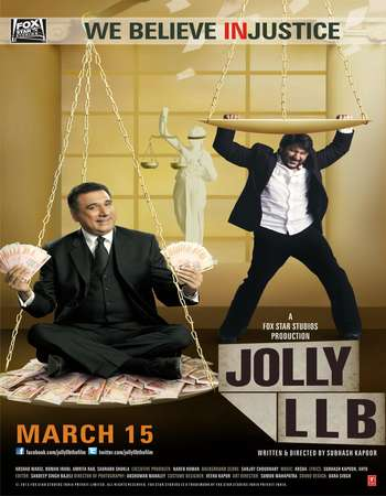 Jolly LLB 2013 Full Hindi Movie BRRip Free Download