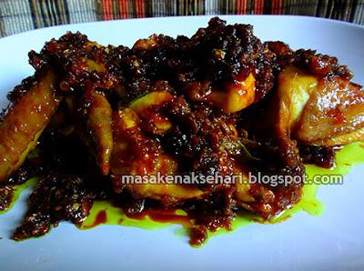Resep Cara Membuat Ayam Goreng Pedas Bumbu Sambal Jahe