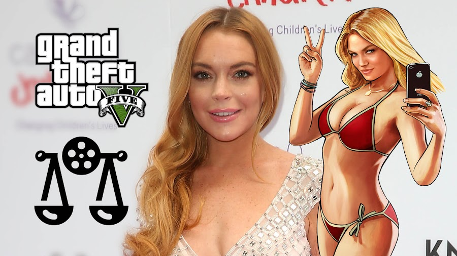 lindsay lohan grand theft auto 5 lawsuit