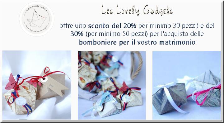 Bomboniere Matrimonio Origami.Wedding Coupon Sconti Matrimonio Sposi Outlet Sconto