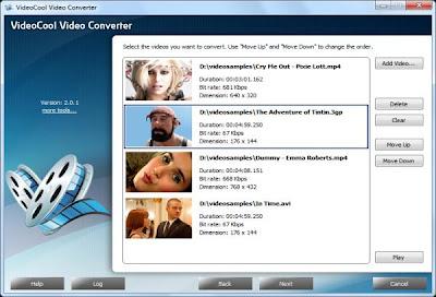 NITBits VideoCool Video Converter v2.0.1 | full version | 5mb কিছু প্রয়োজনীয় সফটওয়্যার (পর্ব ৭)