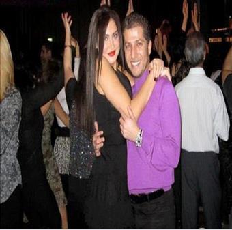 صور مسرور بارزاني مع عشيقته الاسرائيلية نيرال كرتاجيم في احد الملاهي الليلية في اسرائيل!