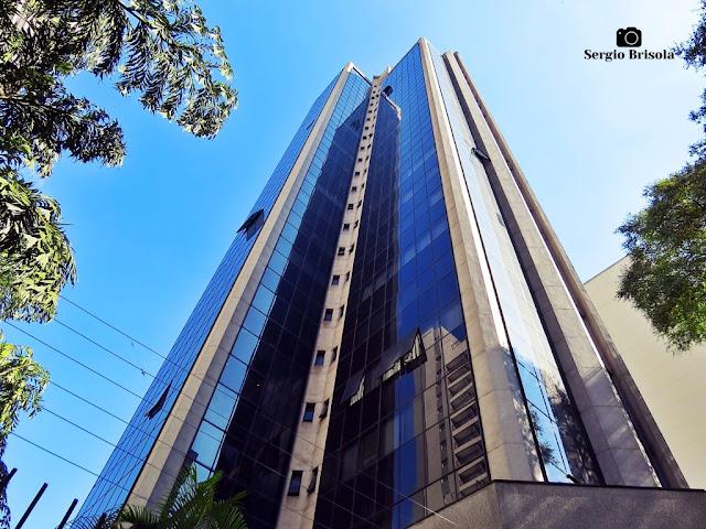 Perspectiva inferior do Edifício Main Office - Bela Vista - São Paulo
