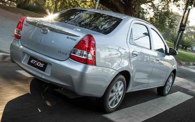 Toyota Etios 2017 Automático - Preço
